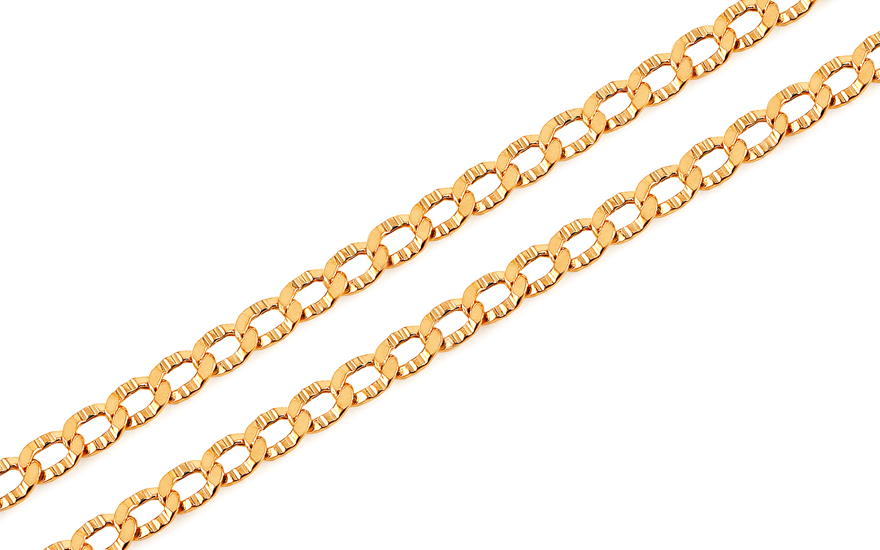 Catenina in oro Blinda 4 mm - IZ15287