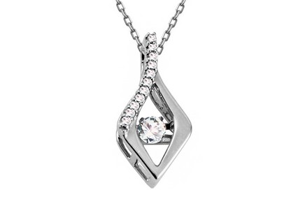 Pendente di diamanti collezione Dancing Diamonds
